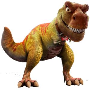 Живой динозавр Дино