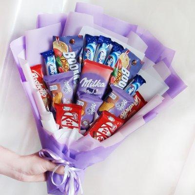 Букет из шоколадок 10