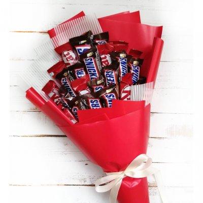 Букет из шоколадок 5