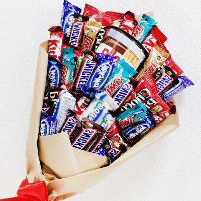 Букет из шоколадок 24